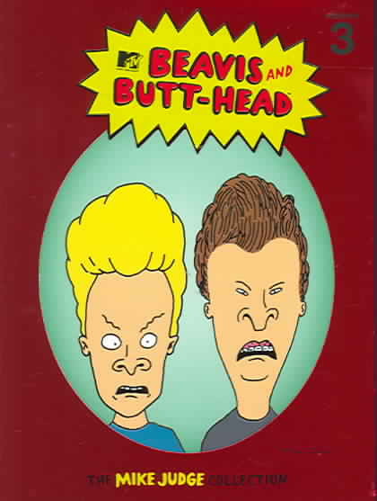 BEAVIS & BUTT HEAD:MIKE JUDGE VOL 3 BY BEAVIS & BUTT-HEAD (DVD)